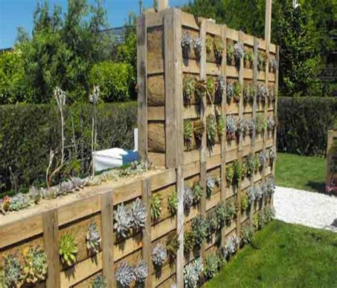 pallet planter wall pallets made wood wall planter ideas pallet ideas