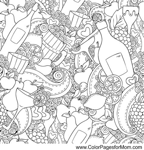 coloring pages for adults food coloring pages for adults coffee coloring page 41