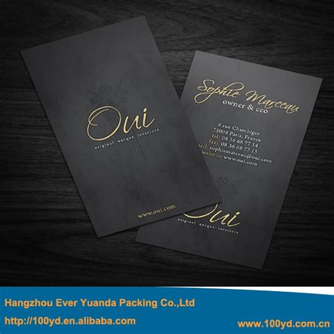 Cheap Luxury Business Cards