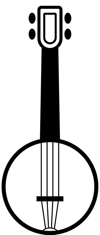 Banjo clipart simple, Banjo simple Transparent FREE for