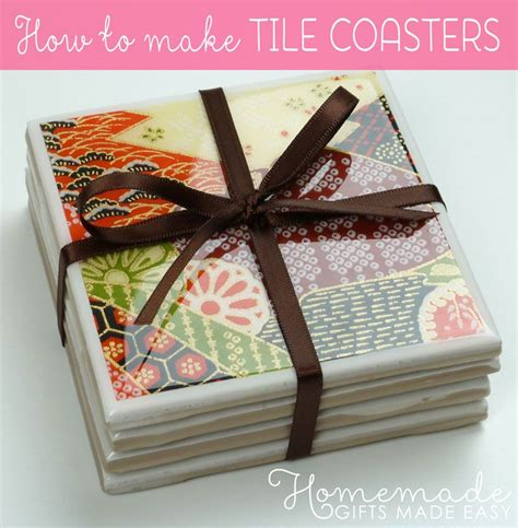 tile craft how to make coasters from ceramic tiles with a glossy