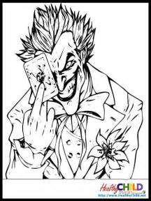 joker coloring pages free batman and joker coloring pages