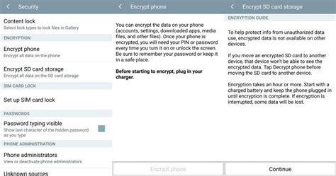 unencrypt android how to encrypt your android device