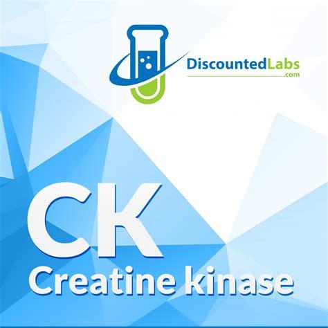 is creatine kinase test ck creatine kinase or creatine phosphokinase cpk