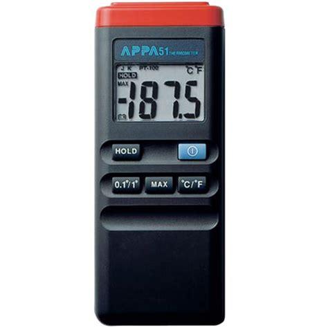 jual appa 51 termometer manual pakai sensor kontak model tusuk