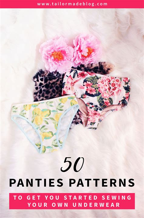 underwear pattern pinterest 50 panties patterns to get you started sewing your own