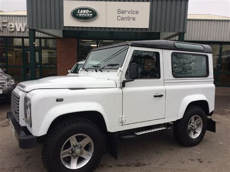 white land rover defender 90 used white land rover defender for sale gloucestershire