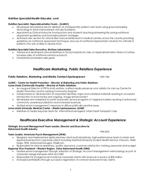 Resume Entry Level Dietitian Cover Letter Exle Entry Level Cover Letter Nutritionist Exle