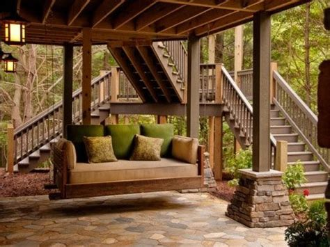 luxury porch swings images from houzz houzz luxury porch swing at home