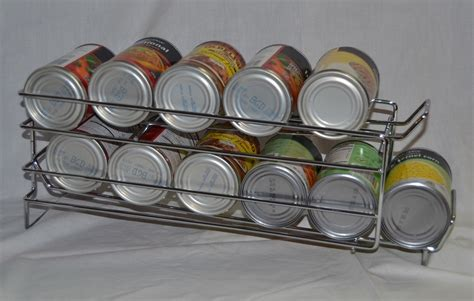 Can Organizer Rack by I10direct Fifo Food Storage Can Rack Organizer Rotation