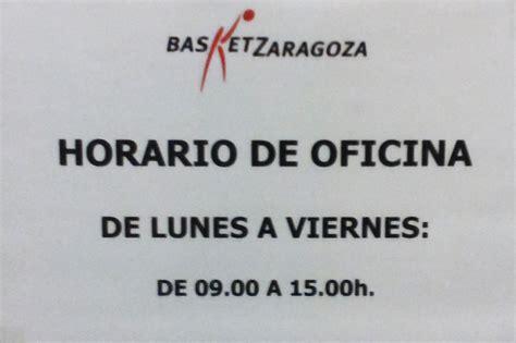oficinas cai zaragoza horario de verano en las oficinas del cai zaragoza
