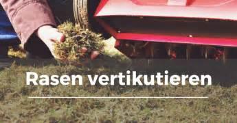 Vertikutieren Im Oktober by Rasen Vertikutieren Garten Schule