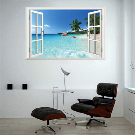 strand wohnzimmer dekor fenster landschaft kaufen billigfenster landschaft partien