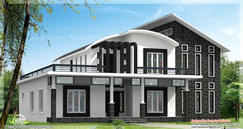 unique house designs this unique home design can be 3600 sq ft or 2800 sq ft kerala home design and floor plans