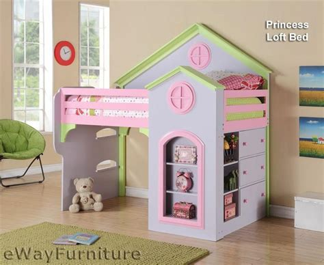 dollhouse bed princess loft dollhouse bed