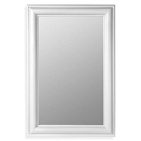 white bathroom mirror frame white framed bathroom mirrors