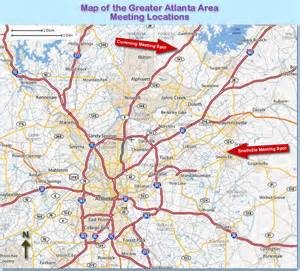 Atlanta Area Map by Air Balloon Rides With Atlanta Georgia S Magic Carpet