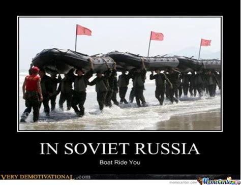 boat ride meme in soviet russia boat rides you by flynn meme center