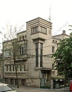 deco home bucharest mid 1930s art deco style house historic houses