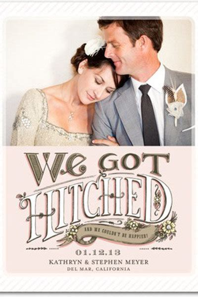 Wedding Announcement by Top 10 Wedding Announcements Bridalguide