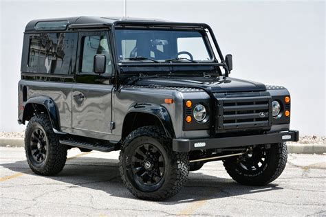 land rover custom feast your on this custom land rover defender