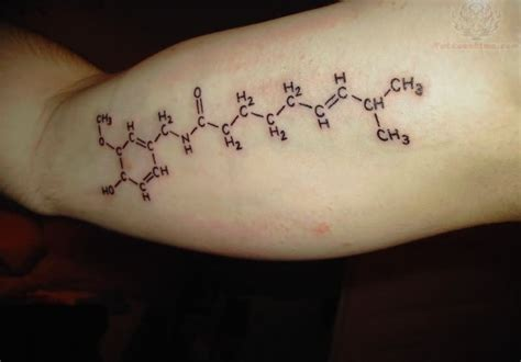 molecule tattoos caffeine molecule images designs