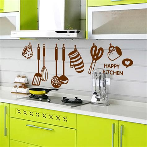 diy kitchen wall decor new diy kitchen wall decor 1000 ideas about 2015 new arrival home decor diy removable happy kitchen