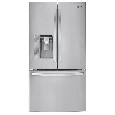 33 door refrigerator lg lfx33975st 33 cu ft door bottom freezer