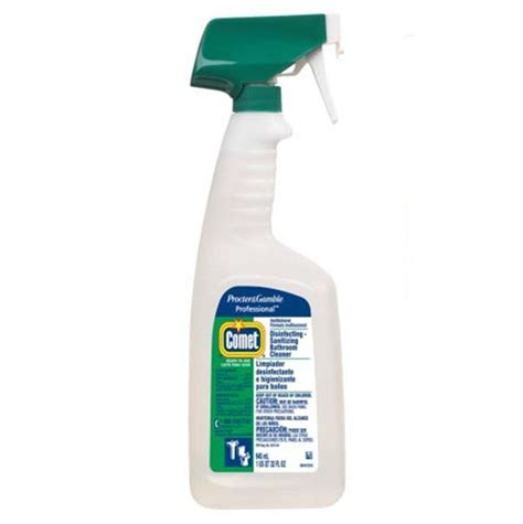 Cleaner For Bathroom by Comet Disinfecting Bathroom Cleaner Pgc 22569 D Orazio Cleaning Supply