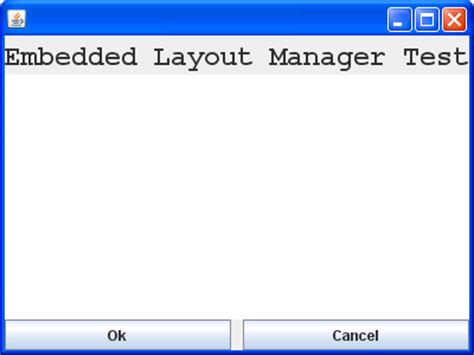 layout manager exles in java combining borderlayout and gridlayout managers