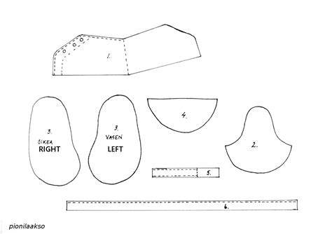 free baby shoe template for fondant