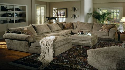 oversized sectionals chenille and leather sectional sofa hereo sofa