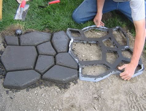 Diy Concrete Backyard by Extend Concrete Patio With Pavers Home Design Ideas