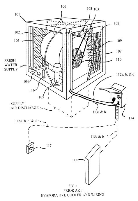 patent  remote control system  evaporative coolers google patents