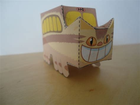 Ghibli Papercraft - catbus papercraft by studioofmm on deviantart