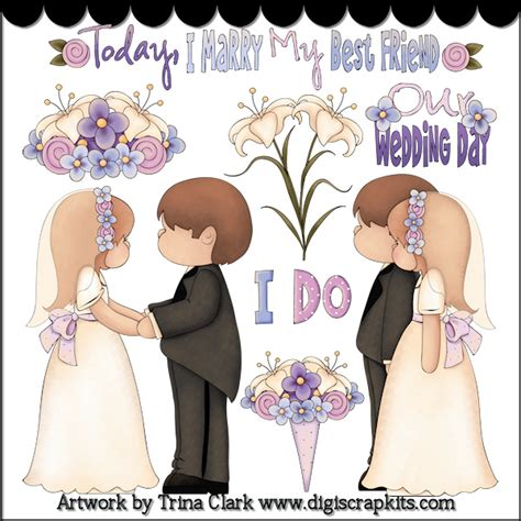 Getting Married by Getting Married 1 Country Clipart By Clark 1 1