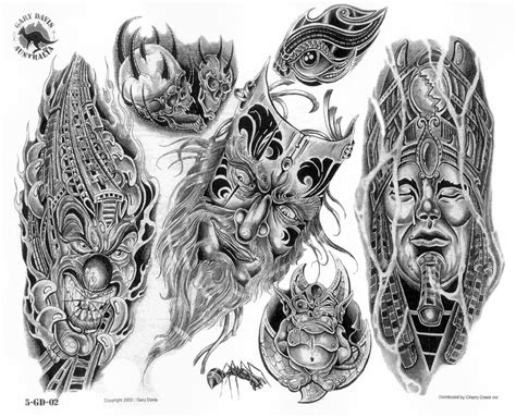 biomechanical skull tattoo design biomechanical tattoos and designs page 147