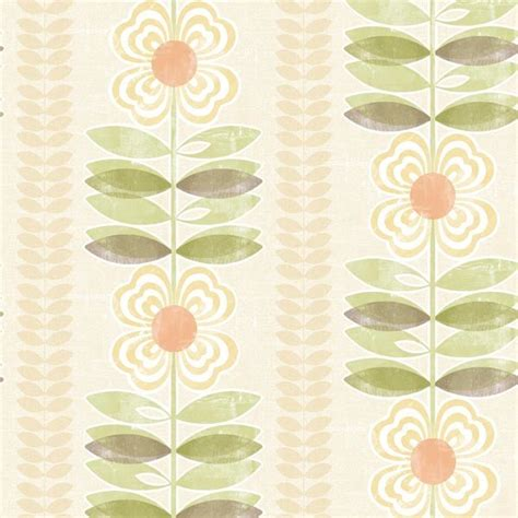 modern floral wallpaper avril yellow modern floral stripe wallpaper contemporary