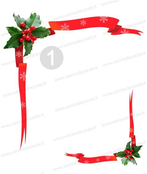 immagini cornici natalizie decorazioni natalizie angolari