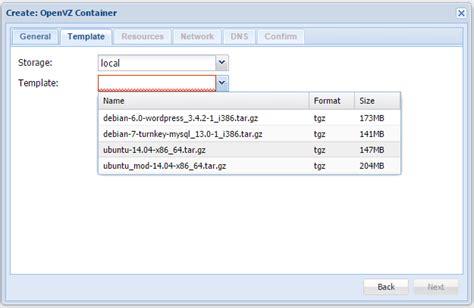 proxmox openvz templates proxmox custom openvz templates 183 techanarchy