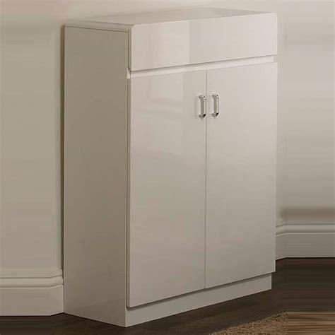 posh white high gloss 2 door shoe cabinet a100 ebay