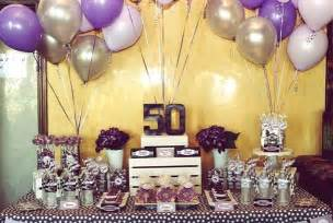 Our guide for 50th birthday party ideas and have a successful party