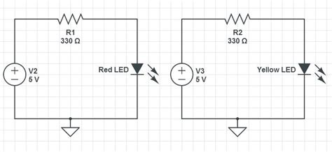 schematic of two diode circuit technology tutorials