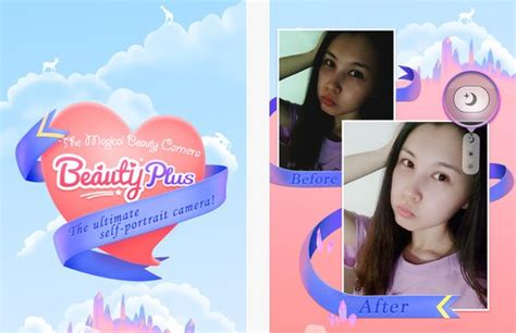 beauty plus beautyplus self portrait camera app tailored for asian