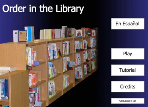 library / practice shelving books!