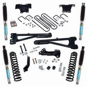superlift 4 radius arm lift kit 2017 ford f 250 and f 350