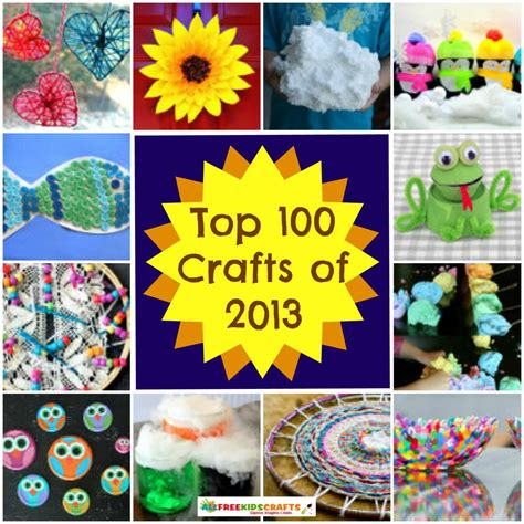 100 craft ideas for kids art project ideas recycled