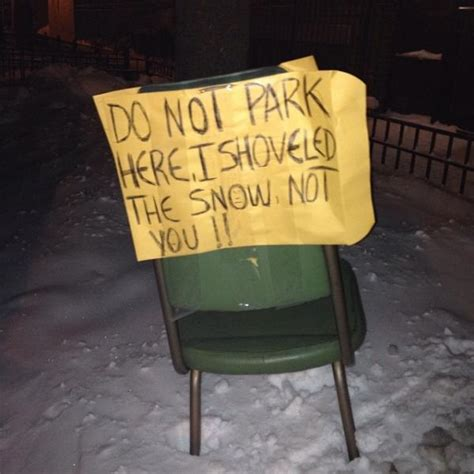 Parking Chair by I Got Dibs Pittsburgh Isn T The Only Home Of The