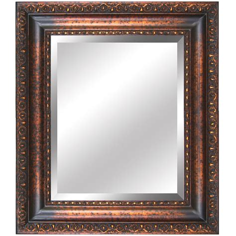 Framed Mirrors For Bathrooms Yosemite Home Decor Ym032g Antique Gold Framed Bathroom Mirror Atg Stores
