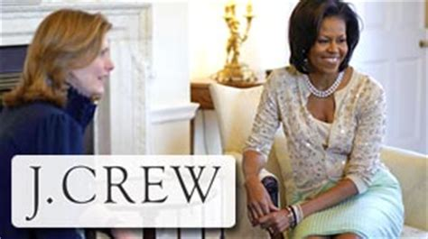 michelle obama j crew what michelle obama isn t doing for j crew abc news